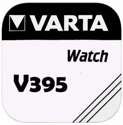 VARTA Watch V395, SR57, SR927SW, AG7 - Primär Silber