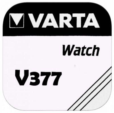 VARTA Watch V377/SR66/606/280-39/D377/377/SR626W - Primär Silber