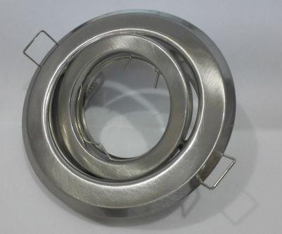 EINBAURAHMEN Schwenkbar für GU10 oder MR16 - Farbe: SATIN