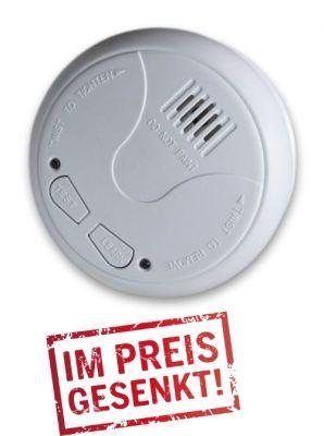FUNK-Rauchmelder Feuermelder nach DIN EN 14604 + Batterien