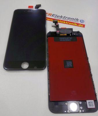 FRElektronik HQ Display für iPhone 6S LCD mit RETINA Glas Scheibe Schwarz Premium AAA