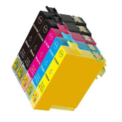 5 Tintenpatronen Druckerpatronen ersetzt Epson(TM) 16XL / T1636 / C13T16364010