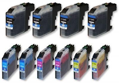 10 Tintenpatronen Druckerpatronen ersetzt Brother LC-223 - LC-227