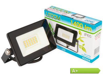20W LED Mini-SLIM-Fluter Strahler 1400 Lumen - 4000K - Tageslicht/Neutralweiss
