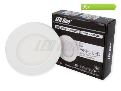 6 Watt Panel LED Line® EasyFix 450lm 2700K Warmweiß EIN.- ODER AUFBAU möglich!