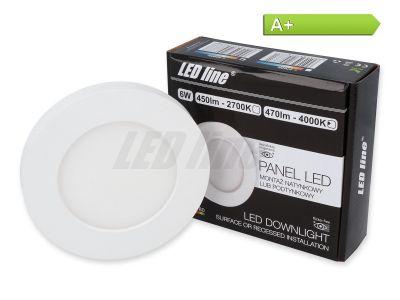 6 Watt Panel LED Line® EasyFix 470lm 4000K Neutraltweiß EIN.- ODER AUFBAU möglich