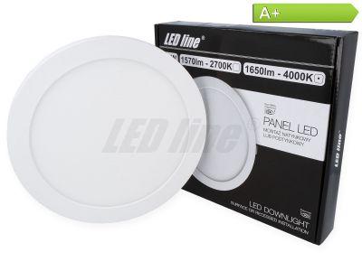 18 Watt Panel LED Line® EasyFix 1650lm 4000K Neutraltweiß EIN.- ODER AUFBAU möglich