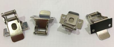 4er Pack Befestigungsklammern für LED Panel Halterung Federclips Decke Einbau