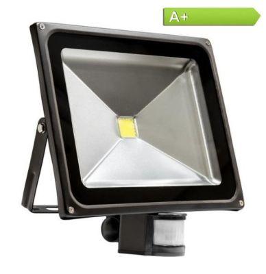 50 Watt LED-Fluter Warmweiss mit Bewegungsmelder - 3250 Lumen