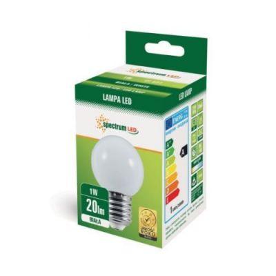 Farbige LED E27 1W Lampe Glühbirne Lichterketten Weiss