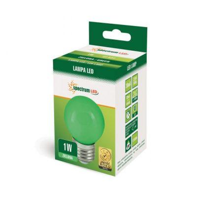 Farbige LED E27 1W Lampe Glühbirne Lichterketten Grün
