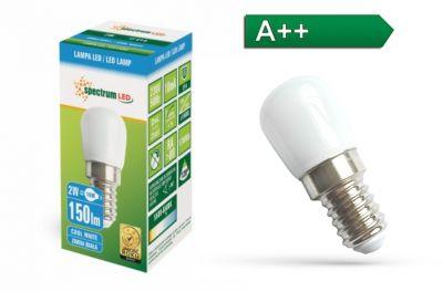 E14 MINI Kühlschrank Nähmaschine Designlampe LED Lampe Kaltweiß 150Lm 230V 2W