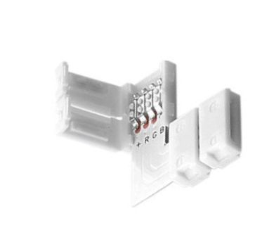 LED RGB Strip Eckverbinder Schnellverbinder L Verbinder