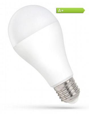 LED Leuchtmittel Big-Globe 16W = 120W E27 opal 1600 lm Kaltweiss