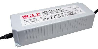 LED Trafo SMD Netzteil bis 150W - 12,5A - 12V wasserfest GLP GPV-150-12N mit TÜV