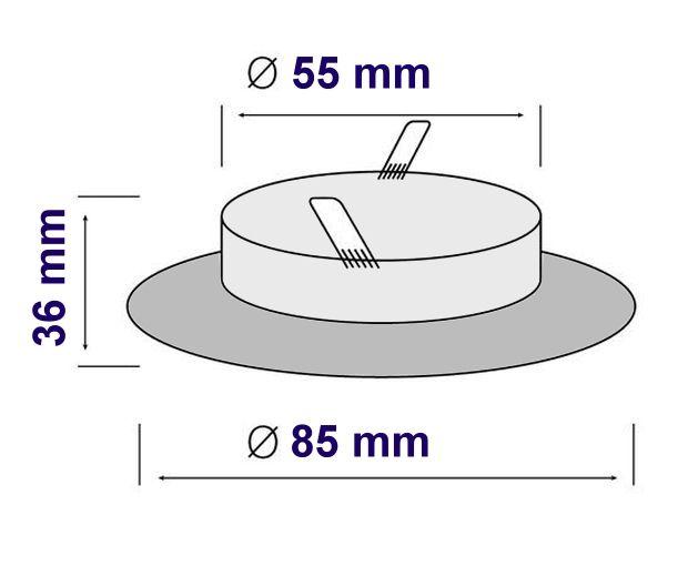 Led Einbaustrahler 55 Mm Einbaudurchmesser : einbaustrahler ip65 feuchtraum wasserfest spot f r ~ A.2002-acura-tl-radio.info Haus und Dekorationen