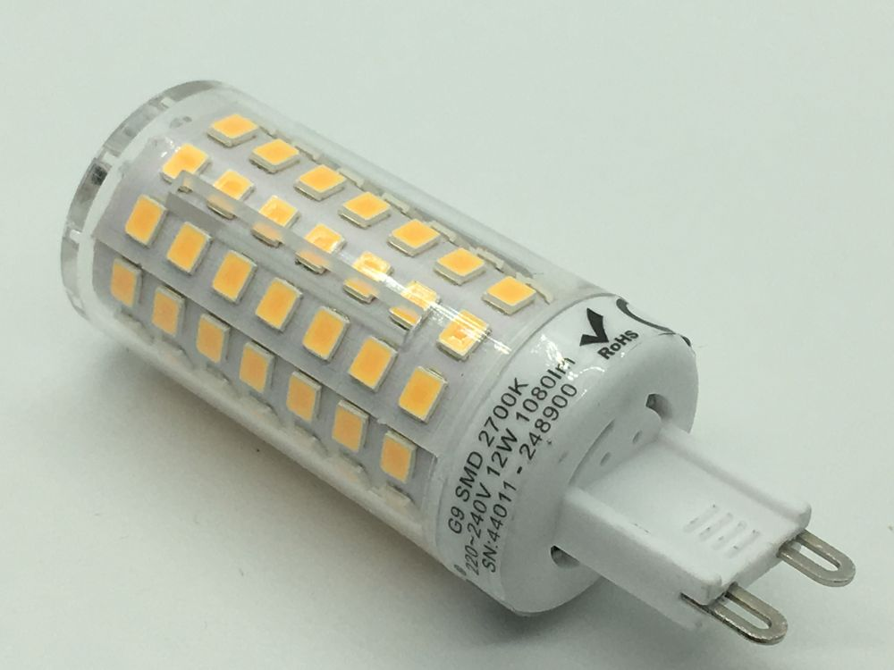 Nextec g mini cob led birne warmweiss
