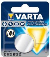 VARTA Lithium Knopfzelle 3V CR2032 CR 2032 Professional Elektronics im Blister