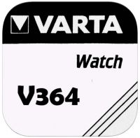 VARTA Watch V364 / SR60 / SB-AG / T / AG1 / LR621 / 164 / V30 Primär Silber