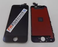 FRElektronik HQ Display LCD für iPhone 5 mit RETINA Glas Scheibe Front Black AAA