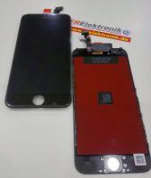 FRElektronik Display für iPhone 6 LCD mit RETINA Glas Scheibe Front Schwarz