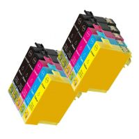 10 Tintenpatronen Druckerpatronen ersetzt Epson(TM) 16XL / T1636 / C13T16364010