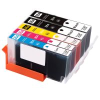5 Tintenpatronen Druckerpatronen ersetzt Hewlett Packard (TM) 364XL - N9J73AE