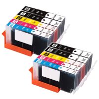 10 Tintenpatronen Druckerpatronen ersetzt Hewlett Packard (TM) 364XL - N9J73AE