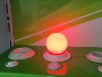 Farbige LED E27 1W Lampe Glühbirne Lichterketten Rot